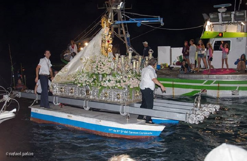 Live the Festival of Carmen with Turismo Marinero.