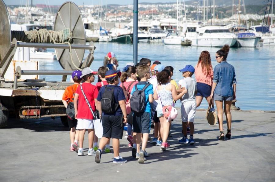 Centros escolares Turismo Marinero