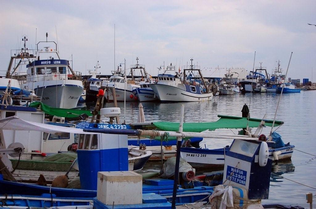 Puertos pesqueros de Málaga