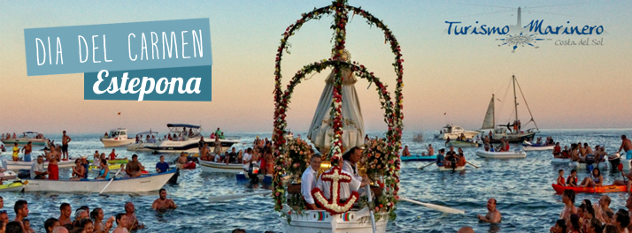 Carmen Day 2015 in Estepona, with Sailor Tourism